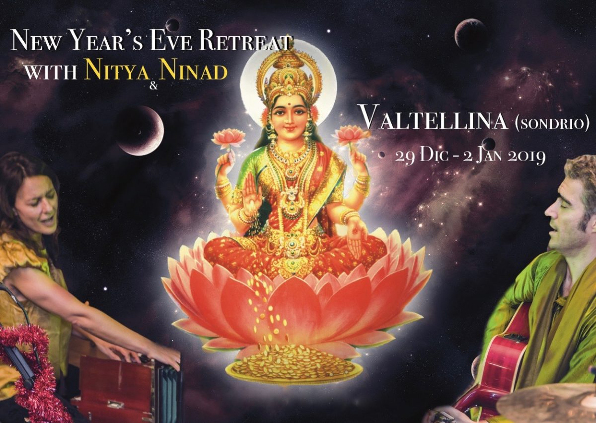 NEXT EVENT: 29 Dec-2 Jan New Year's Eve retreat